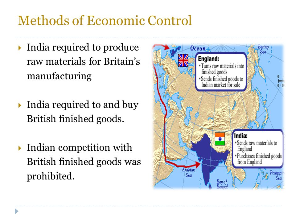 Methods of Economic Control