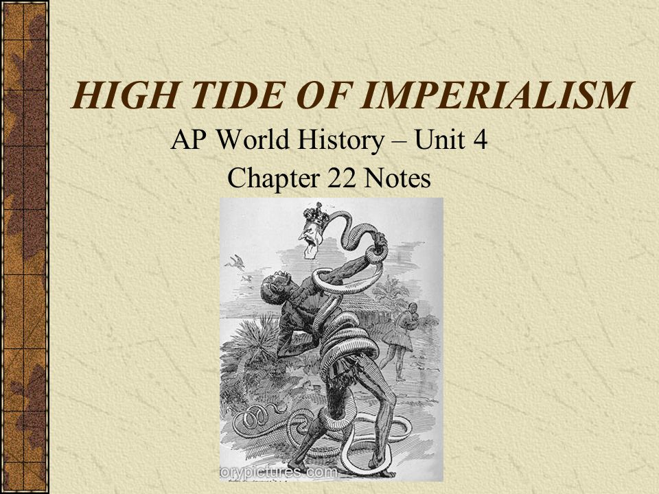 High Tide of Imperialism