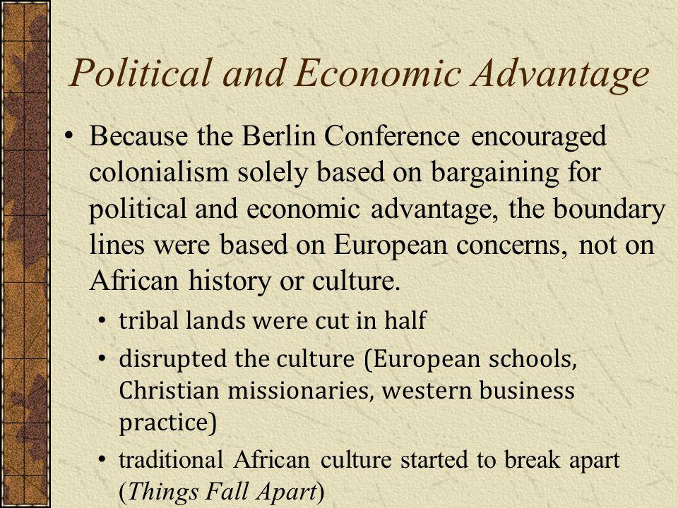 Political and Economic Advantage
