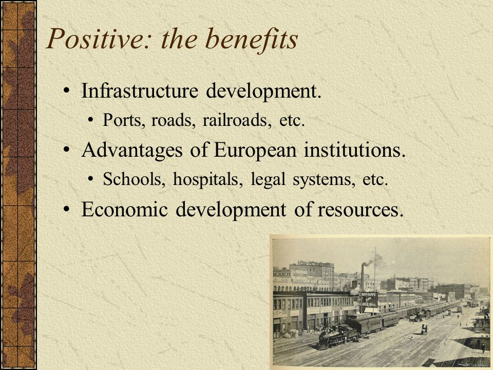 Positive: the benefits