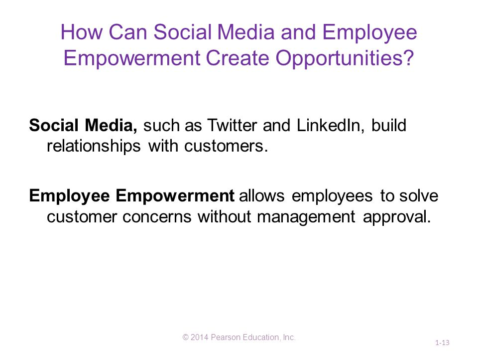 How Can Social Media and Employee Empowerment Create Opportunities