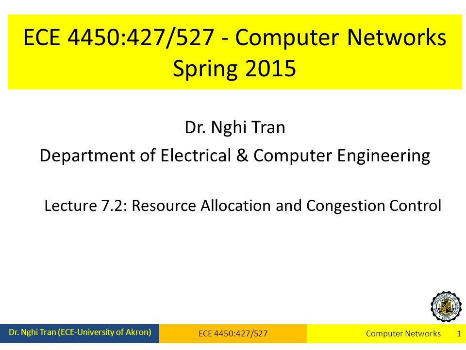 ECE 4450:427/527 - Computer Networks Spring 2015