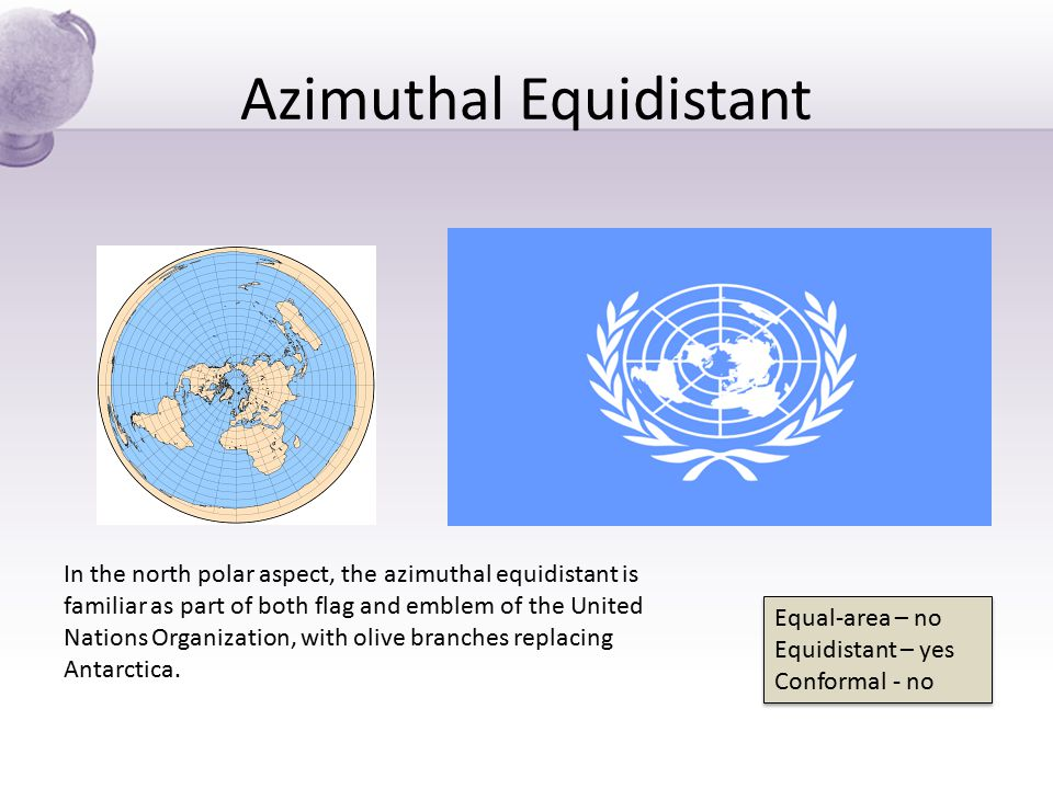 Azimuthal Equidistant