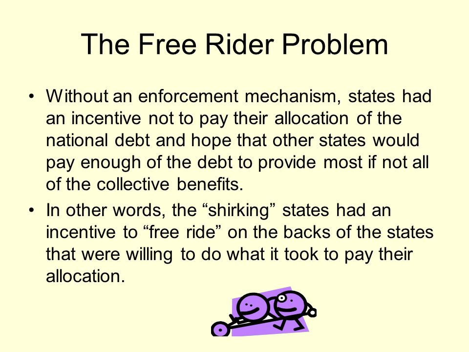 The Free Rider Problem