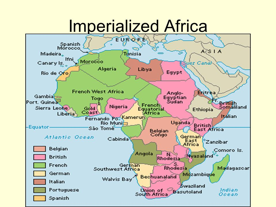 Imperialized Africa