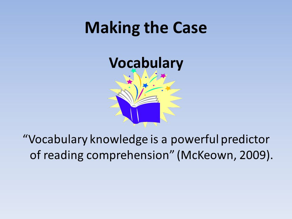 Making the Case Vocabulary