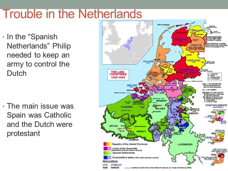 Trouble in the Netherlands