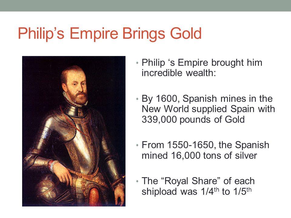 Philip's Empire Brings Gold