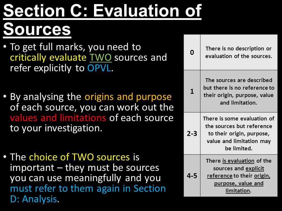 What's the Difference Between Source Analysis and Evaluation?