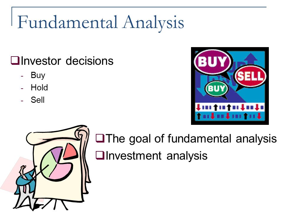 Fundamental Analysis Investor decisions