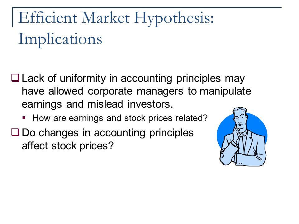 Efficient Market Hypothesis: Implications