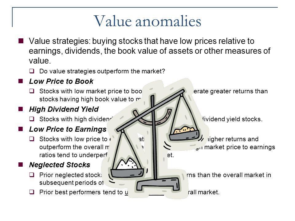 Value anomalies