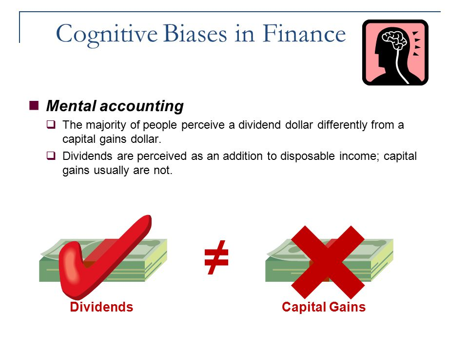 Cognitive Biases in Finance