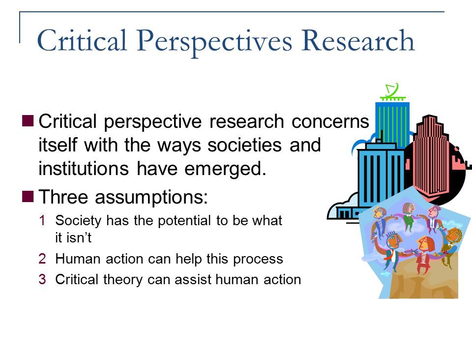 Critical Perspectives Research