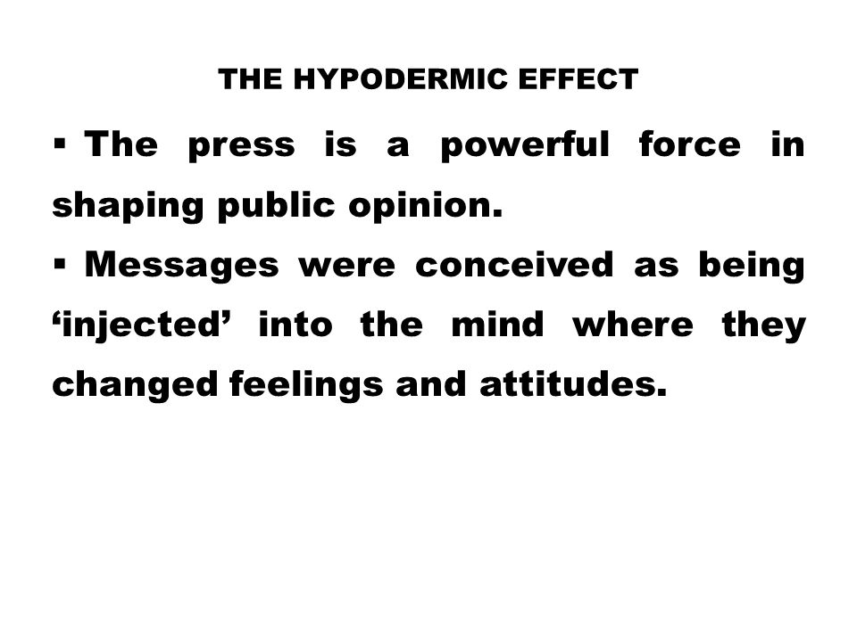 The press is a powerful force in shaping public opinion.