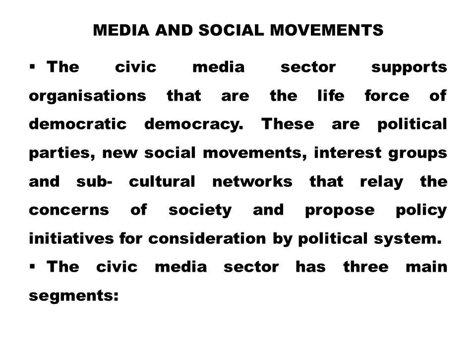Media and Social Movements