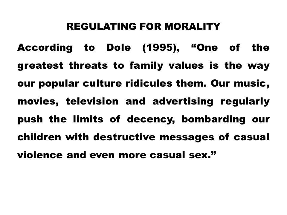 Regulating for Morality