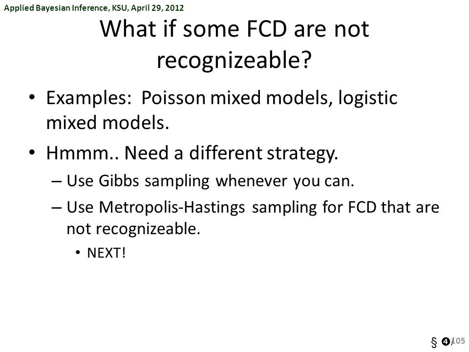 What if some FCD are not recognizeable