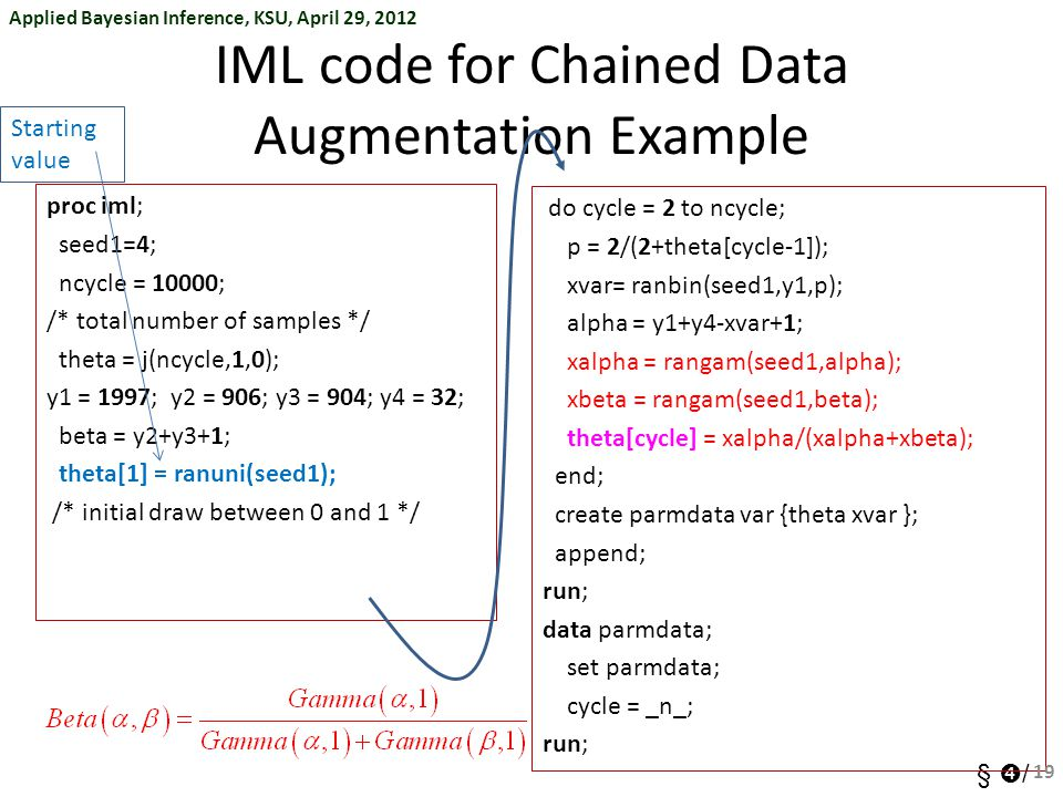 IML code for Chained Data Augmentation Example