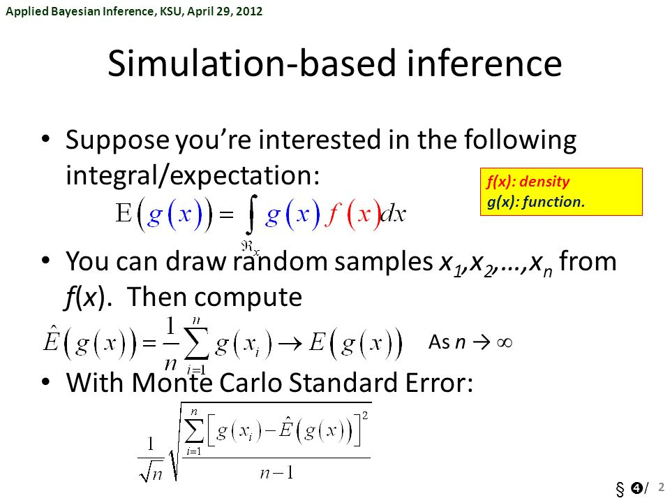Simulation-based inference