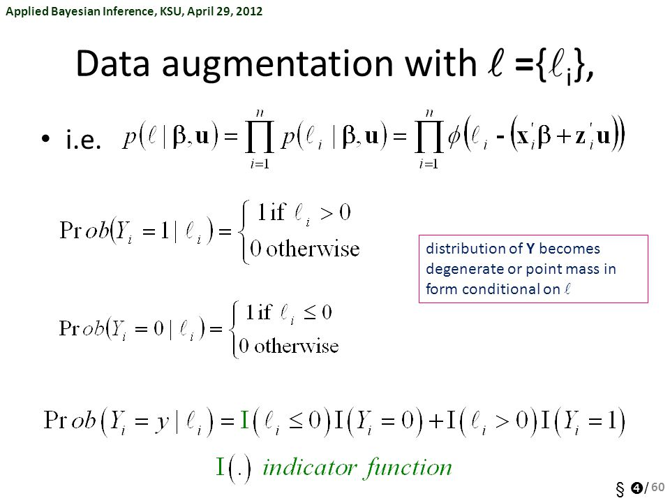 Data augmentation with  ={i},