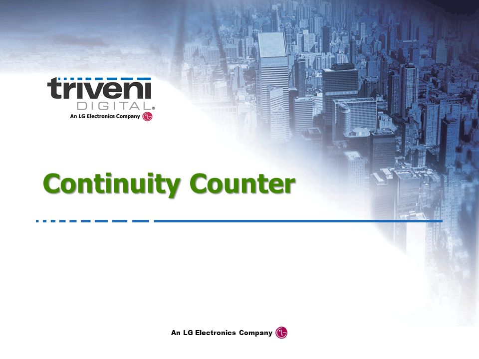 Continuity Counter