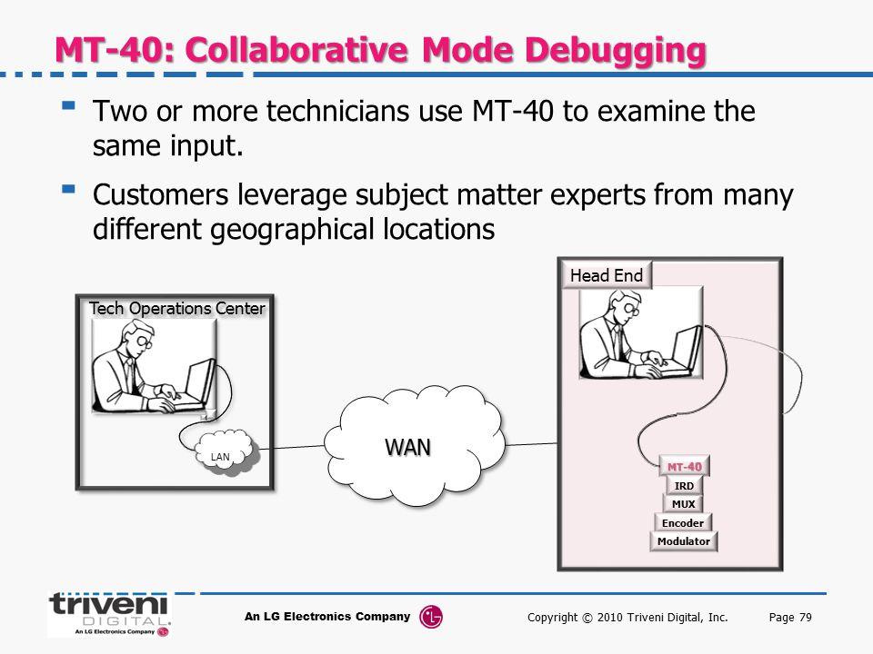 MT-40: Collaborative Mode Debugging