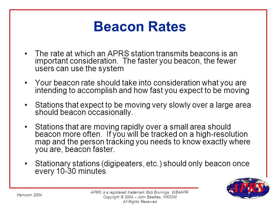 Beacon Rates