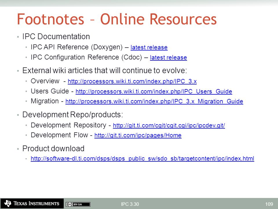 Footnotes – Online Resources