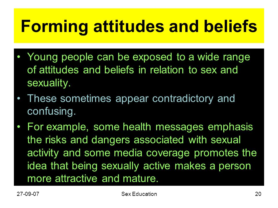 Forming attitudes and beliefs