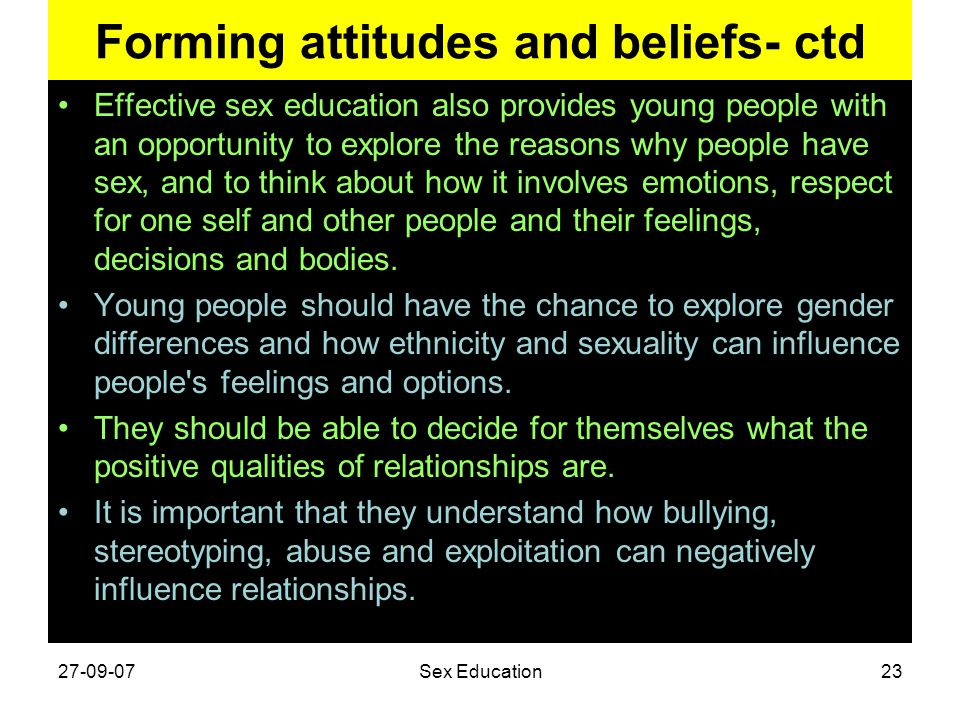 Forming attitudes and beliefs- ctd