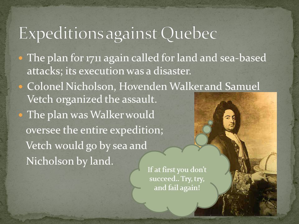 Expeditions against Quebec