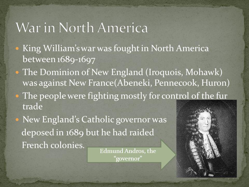 Edmund Andros, the governor