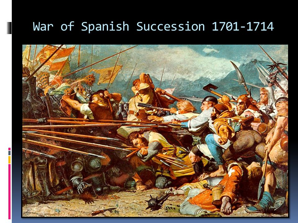 War of Spanish Succession 1701-1714