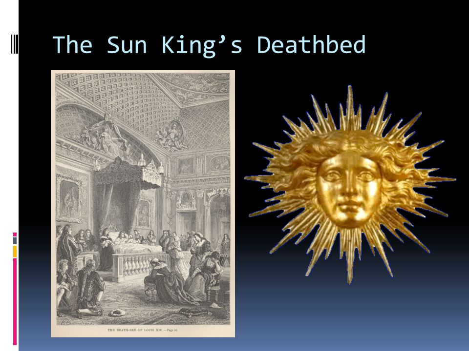 The Sun King's Deathbed