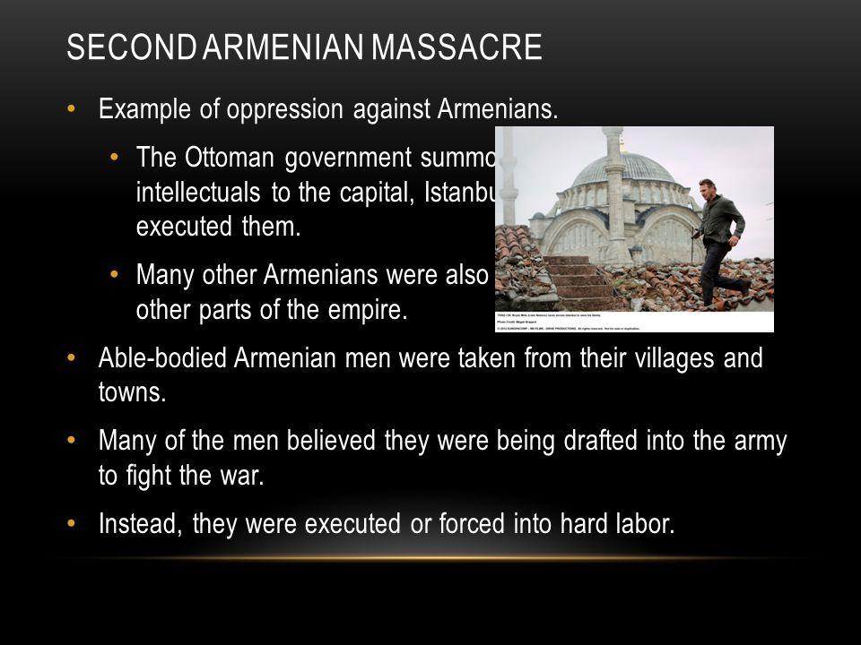 Second Armenian Massacre