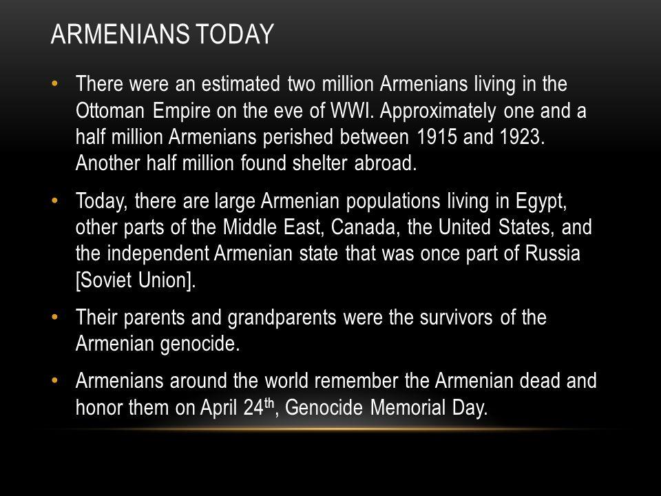 Armenians today