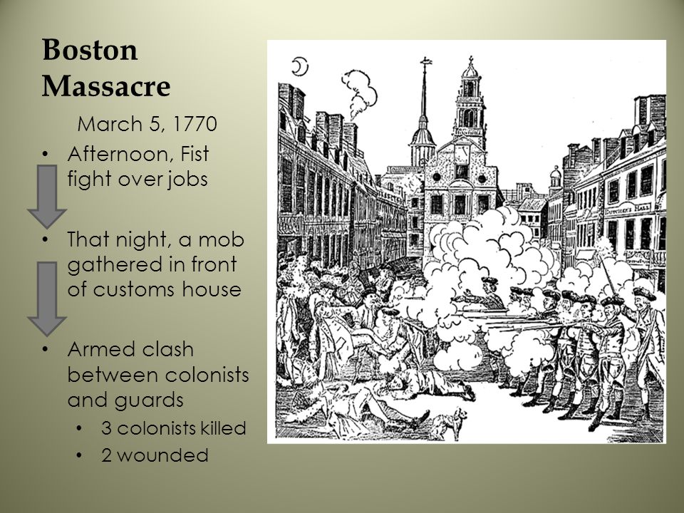 Boston Massacre March 5, 1770 Afternoon, Fist fight over jobs
