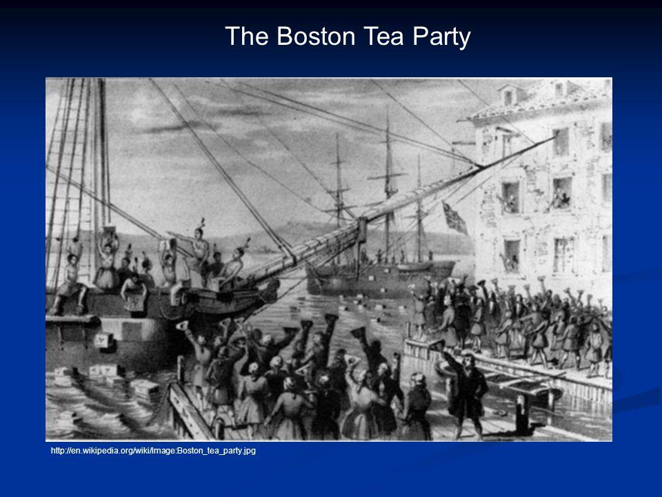 The Boston Tea Party http://en.wikipedia.org/wiki/Image:Boston_tea_party.jpg