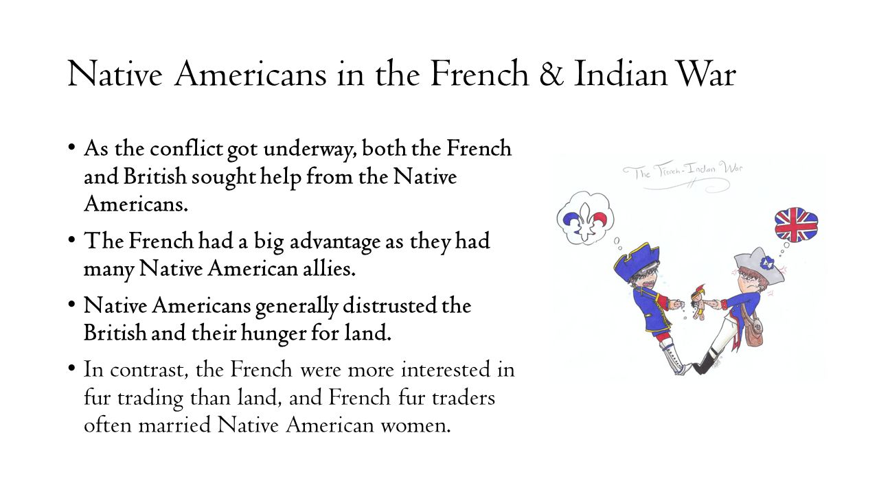 Native Americans in the French & Indian War