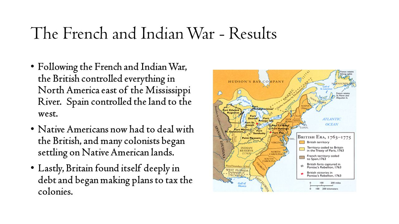 The French and Indian War - Results