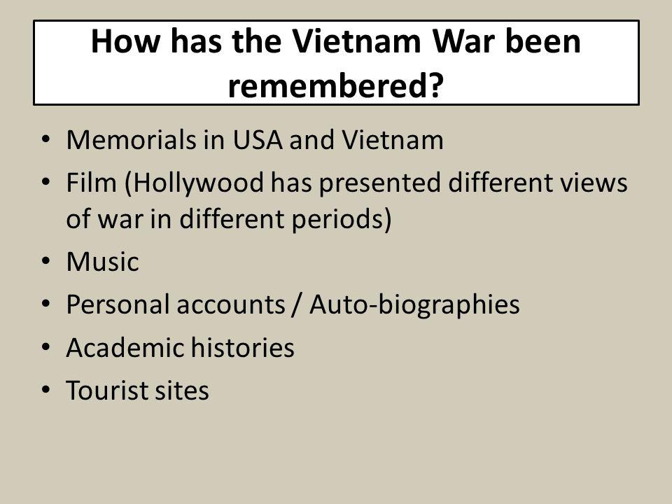 How has the Vietnam War been remembered