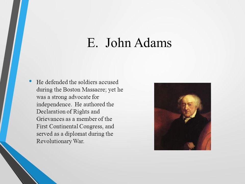 E. John Adams