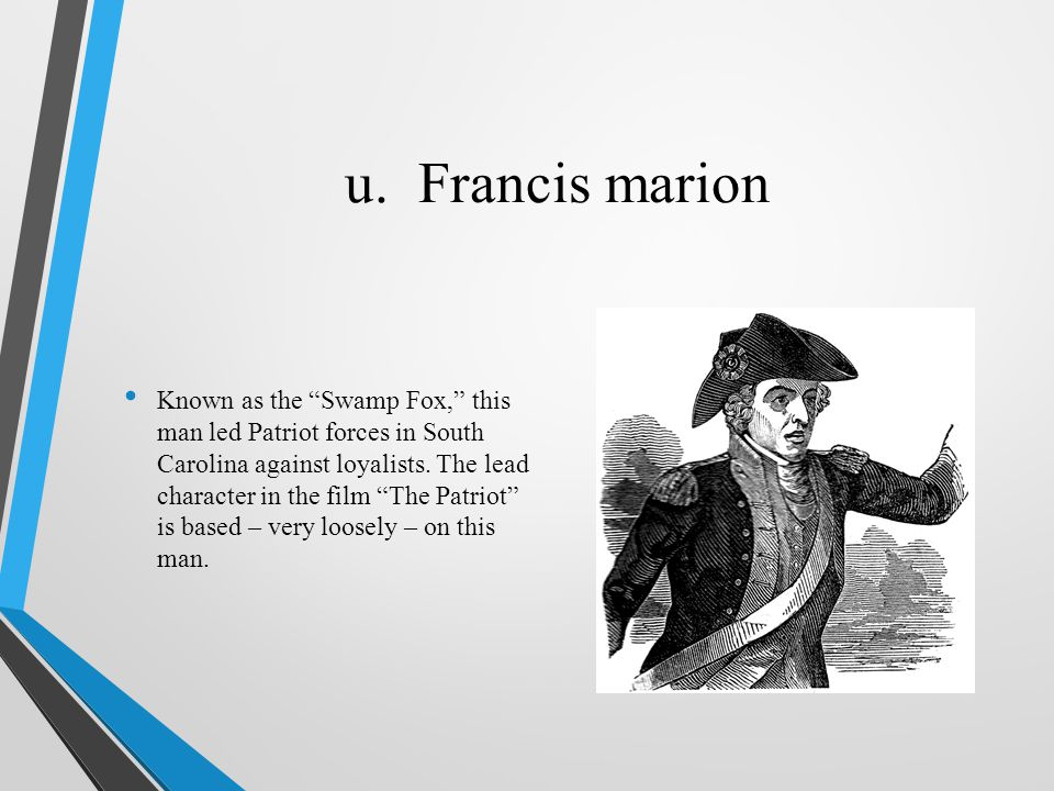 u. Francis marion