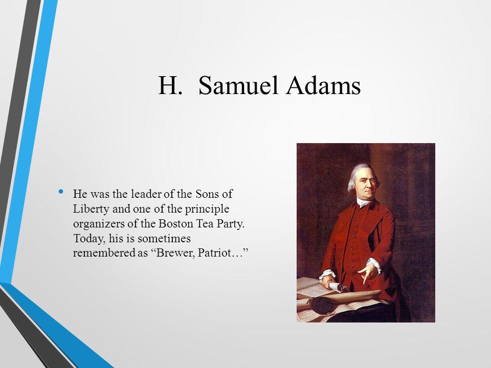 H. Samuel Adams