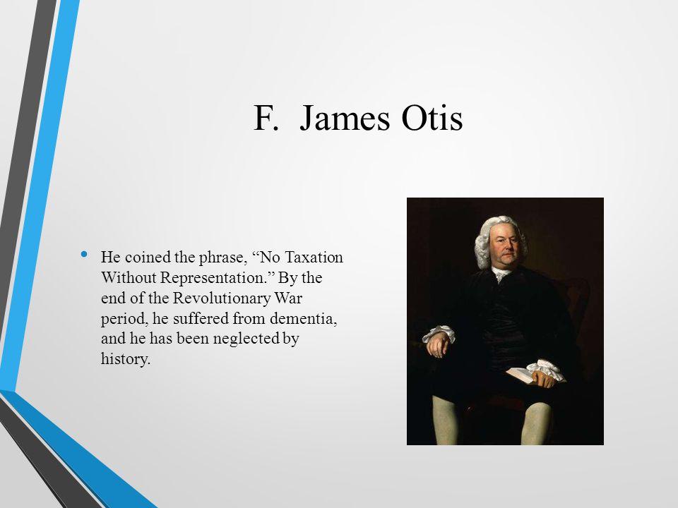 F. James Otis