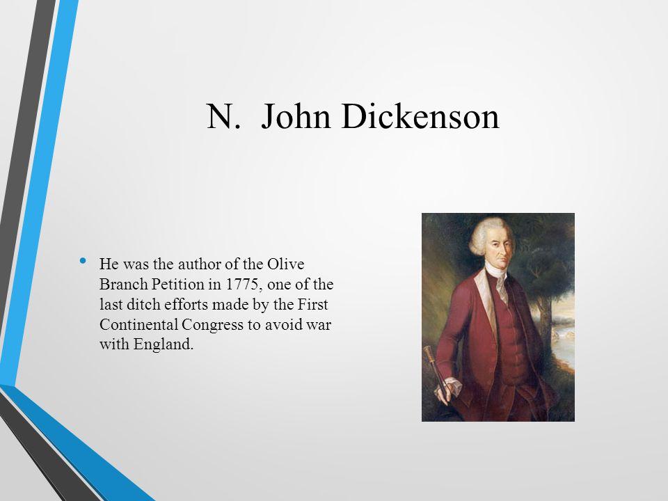 N. John Dickenson