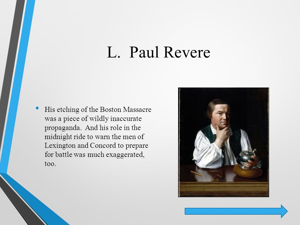L. Paul Revere