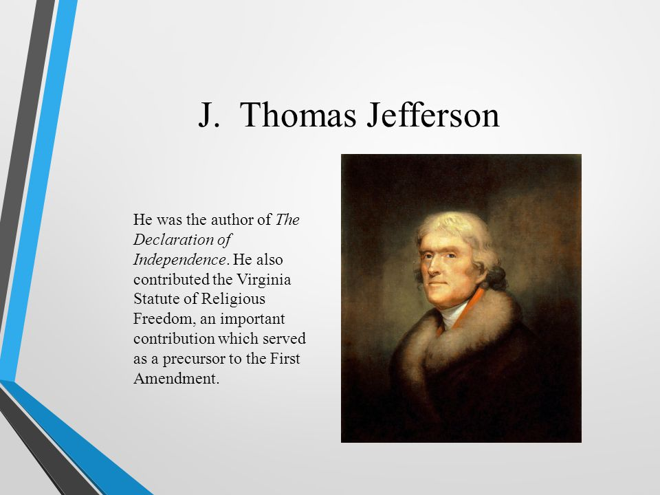 J. Thomas Jefferson