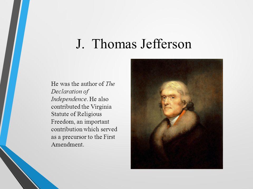 J. Thomas Jefferson
